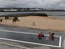 Pravděpodobně jediná pláž s vyhřívaným oceánem v Evropě – společně s termálními...