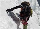Radek Jaroš stoupá na K2
