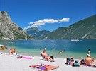 Lago di Garda, pláž