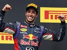 AUSTRALSKÝ TRIUMF. Daniel Ricciardo vyhrál s Red Bullem závod na maďarském...