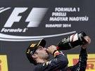 TÝDEN V LIHU. Daniel Ricciardo slíbil, že vítězství na Hungaroringu pořádně...