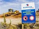 Premiér Bohuslav Sobotka zahájil dostavbu úseku dálnice D11 z Osiček k Bláhovce...