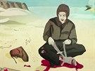 Z animované povídky Letící kůň (cyklus Gottland)