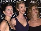 Courteney Coxová,  Lisa Kudrowová a Jennifer Anistonová