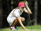 Golfový turnaj Sberbank Golf Masters v Dý�in�. Klára Spilková.