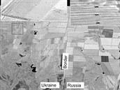 Satelitní snímek z 23. července 2014 ukazuje podle amerického ministerstva...