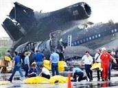 301 OBĚTÍ. Lockheed L-1011 Tristar se 19. srpna 1980 vrátil po startu ze...