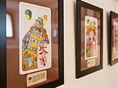 Husitské muzeum v Táboře a Club sběratelů hracích karet uspořádali výstavu s...