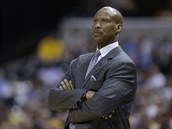 Byron Scott se v NBA stal trenérem basketbalist� Los Angeles Lakers.
