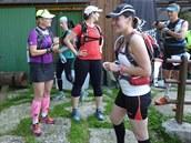 S Blankou Detlefs (vlevo) před startem.