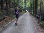 Robert Nürnberger, před chvílí jsme překonali maratonskou vzdálenost