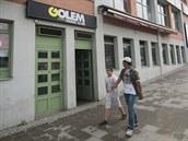 Klub Golem sídlil v budově zlínské Tržnice 20 let. Řada dnes populárních kapel...