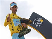 �RALOK Z MESSINY. Vincenzo Nibali suverénn� vyhrál Tour de France 2014.