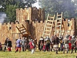 O město Mělník se 2. srpna utkají armády husitů a Zikmunda Lucemburského.