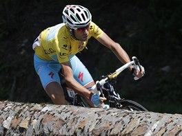 Lídr cyklistické Tour de France Vincenzo Nibali.