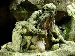 Barokní sochy Matyáše Bernarda Brauna v Kuksu