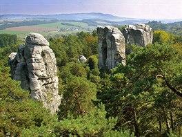 Skalní město na Hruboskalsku v Českém ráji