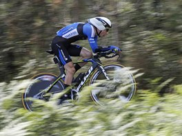 OPĚT PŘEKVAPIL. Leopold König potvrdil i v časovce, že na letošní Tour de