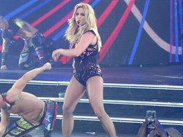 Britney Spears při vystoupení v Las Vegas