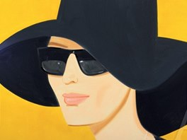 Alex Katz: Black Hat #2 (2010)