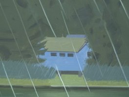 Alex Katz: Rain (1989)