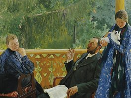 Boris Michajlovič Kustodiev: Rodina (1905)