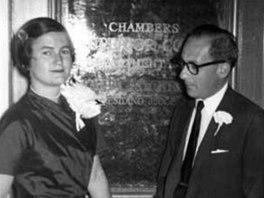 Max Rodrigues Garcia se svou ženou