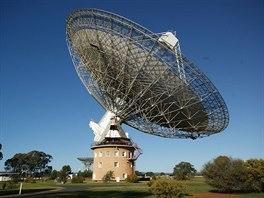 Parkes Radio Telescope poblíž australského Sydney