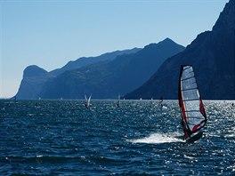 Windsurfing na Gardě