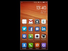 Displej phabletu Xiaomi Redmi Note