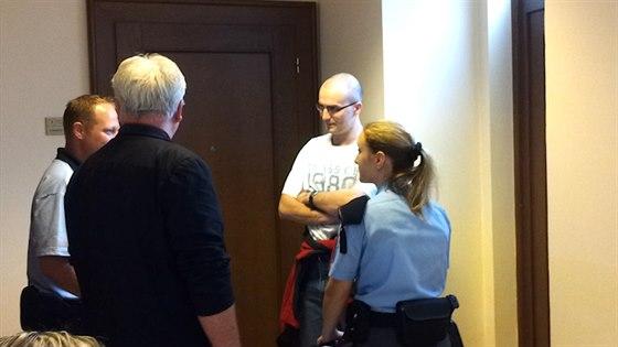 Obžalovaný z pokusu o znásilnění dvou nezletilých dívek Tomáš Auersvald.