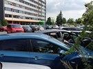 V budov� Pra�sk�ch slu�eb zasahuje protikorup�n� policie.