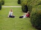 Tuilerijská zahrada u muzea Louvre v Paříži patří mezi nejvíce navštěvovaná...