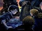Obálka prvního dílu Harry Potter a kámen mudrců