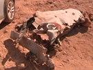 V libyjském Benghází se při bojích zřítil vládní MiG. (30. července 2014)
