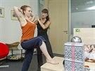 Výstupy jsou sice účinné, ale pokud se při cvičení v kanceláři nechcete zpotit,...