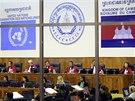 Soudní tribunál OSN v Phnompenhu (30. 7. 2014).