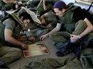 Izraelští záložníci (31. 7. 2014).