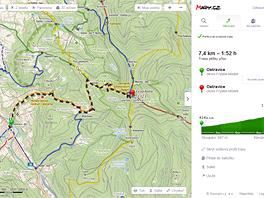 Ostřejší výškový profil: Výběh na kopec určitě nebude zdaleka tak rychlý jako
