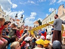 Prázdniny v Telči jsou pro děti i dospělé