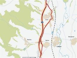 V�stavba 2,8 kilometru dlouh�ho obchvatu Vlachova a Zvole na �umpersku se...