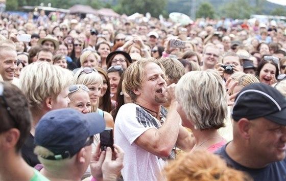 Na moravsk� ����e festivalu Hrady CZ vystoup� poprv� kapela Olympic
