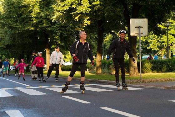 Hlavní třída přivítá inline maraton i cyklistický memoriál
