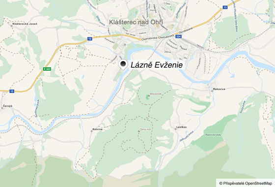 Výchozím místem pro oba výlety jsou Lázně Evženie u Klášterce nad Ohří.