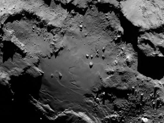 Sn�mek komety �urjumov-Gerasimenko sta�en� ze sondy Rosetta dnes 6.8.2014....