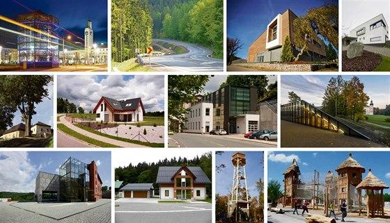 O titul Stavba roku 2014 Královéhradeckého kraje se utká celkem 12 projektů.
