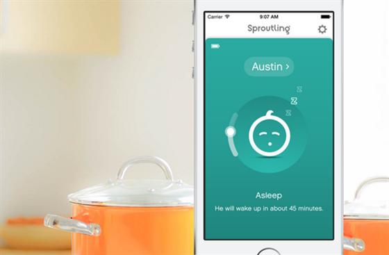 """Díky """"big data"""" dokáže aplikace předpovědět i kdy se dítě vzbudí."""