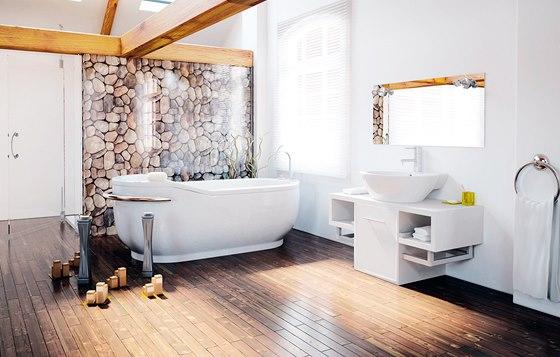 Do koupelen se hod� disperzn� n�t�ry odoln� proti vlhkosti, vysoce ot�ruvzdorn�