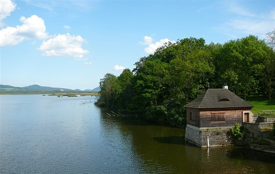 Novozámecký rybník, na jehož březích hnízdí mnoho vzácných druhů ptáků.