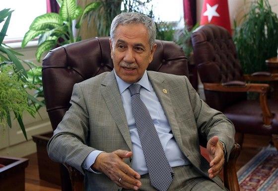 Turecký místopředseda vlády Bülent Arinç (Ankara, 24. července 2014)